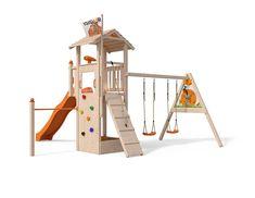 Xxl Klettergerüst 2 4m Kletterturm Spielturm Mit Kletternetz Reckstange Leiter : Besten spiel bilder auf in spielplatz garten