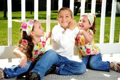 Twin sisters having fun with their brother :) - by Domino Arts Photography Siblings, Twins, Domino Art, Twin Sisters, Brother Sister, Family Photos, Photography Ideas, Photo Ideas, Future