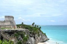 The Mayan Ruins of Tulum in Tulum, Mexico near Puerto Vallarta by benita