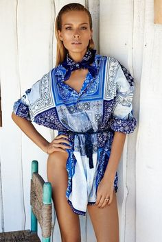 d59df10543 Petra Nemcova is summer chic on the cover of ELLE Czech July 2014. Porcelain  PrintFolk FashionRunway ...