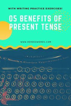 Learn 5 times to choose present tense plus get writing practice exercises. Writing A Novel Tips, Start Writing, Writing Practice, Writing Help, Fiction Novels, Fiction Writing, Novels For Beginners, Tenses Exercises, Nyt Bestseller