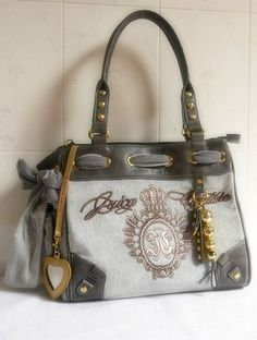 Juicy Couture Outlet Grey Handbags JCH065 a9c62df7a