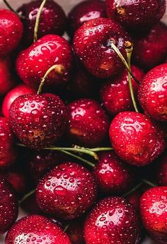 Free Image on Pixabay - Cherries, Red, Fruit, Fruits Cherry Fruit, Cherry Tart, Red Fruit, Fruit Art, Cherry Red, Red Aesthetic, Aesthetic Pictures, Growing Vegetables, Fruits And Veggies