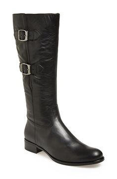 ab4d9f552b092b Gabor Leather Tall Boot (Women) available at  Nordstrom Tall Leather Boots