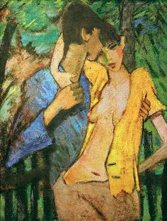 Otto Mueller - Liebespaar - jetzt bestellen bei kunst-fuer-alle.de