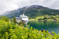 Morning ALL! Guess this beautiful location ❤️ Image P&O Cruises. It's btw! P&o Cruises, What Inspires You, Inspire Others, Norway, Traveling By Yourself, Travel Inspiration, Mountains, Nature, Image