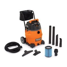 Ridgid 31693 WD1851 16 Gallon 6.5 HP Wet/Dry Vacuum with Cart  http://www.handtoolskit.com/ridgid-31693-wd1851-16-gallon-6-5-hp-wetdry-vacuum-with-cart/