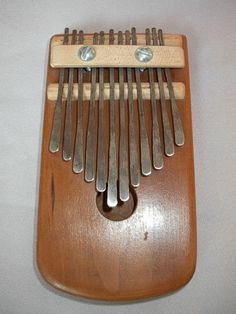 Kalimbas have such an interesting sound. Hear one! http://www.youtube.com/watch?v=tg24k7tzIc0