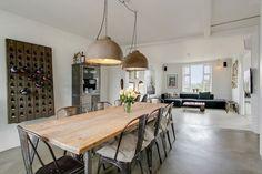 Interieur inspiratie uit Kopenhagen. Voor meer wooninspiratie neem ook eens een kijkje op http://www.wonenonline.nl/