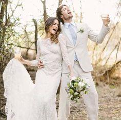 Ian Somerholder and Niki Reed on their wedding day
