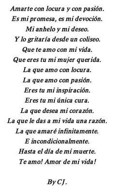 #votos y #poemas de #amor