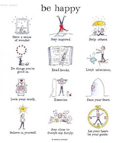 How to be rational and positively happy.