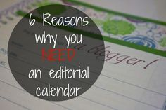 An editorial calendar helps bloggers to stay organized, keep deadlines, and so much more.