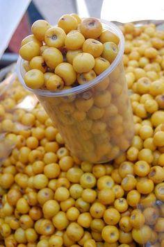 Nances fruit from Guatemala