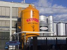 Grain Silo at the Harpoon Brewery in Boston, MA Boston Brewery, Local Brewery, Beer Brewery, Home Brewing Beer, Grain Silo, In Boston, Craft Beer, Signage, Tours