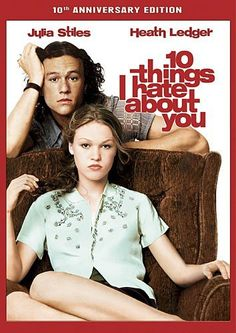 10 Things I Hate About You DVD ~ Heath Ledger, Julia Stiles