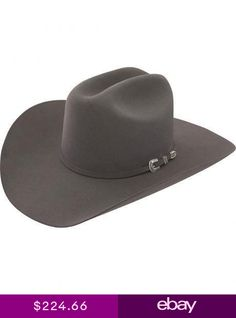 46b12e546a371 Stetson Cowboy Hat 6X Beaver Fur Dr.Grey SKYLINE With Free Hat Brush+No Tax  Sale
