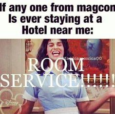 Technically if I found out the hotel of any of my cute husbands!!!!!!
