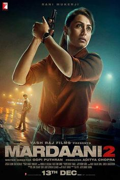 Rani Mukerji hosts the first screening of Mardaani 2 for police officers, Box office collections Movies To Watch Hindi, Hindi Movies Online, Good Movies To Watch, Movies Free, Film D'action, Rani Mukerji, Movies, Video Clip