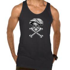 Skull and Crossbones Chef Tank