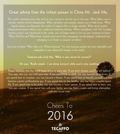 Tecaffo wishes you all a very happy new year. Cheerrs! #HappyNewYear