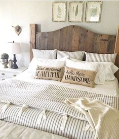 41 Awesome Rustic Farmhouse Bedroom Decor Ideas