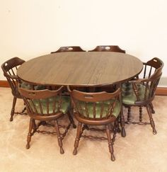 We had this set, minus the seat {GM} ~~~ This looks very much like the ugly set MIL wanted to trade for our black & white dinette set. Of course, I agreed to. Photo Vintage, Childhood Days, School Memories, Seat Pads, Sweet Memories, The Good Old Days, Table And Chairs, Old School, Old Things
