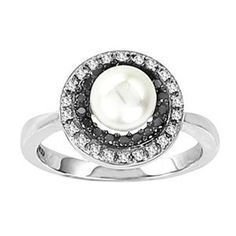 pearl wedding ring. I would love this so much more than a diamond.