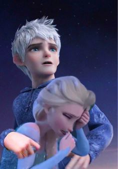 Jack Frost and Elsa | Elsa and Jack - elsa-and-jack-frost Photo