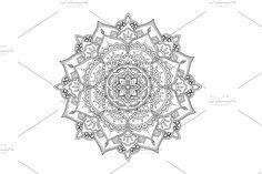 Ethnic Mandala by Natikka Art on @creativemarket