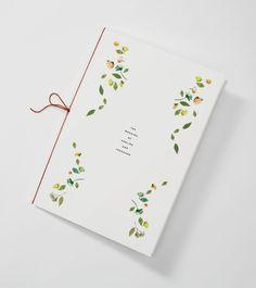 Venamour - Botanical Collection - Wedding menu card