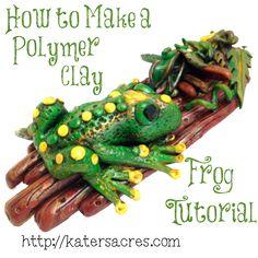 Polymer Clay Frog Tutorial – Friesen Friday Book 2, Week 4