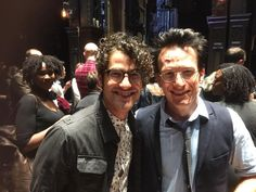 Darren and Jamie Parker, who plays Harry in the Harry Potter and the Cursed Child Play - August 20, 2016