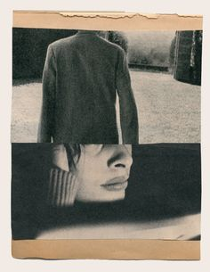 """""""Katrien de Blauwer - I do not want to disappear silently into the night """" Collages, Photomontage, Graphisches Design, Collage Art Mixed Media, Collage Design, Foto Art, Portraits, Double Exposure, Medium Art"""