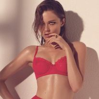 9529168f8264d Steamy Spring – Olga Maliouk is the very picture of seduction in the spring  2013 campaign from lingerie label Blush. Photographed by Max Abadian and  styled ...