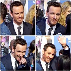 Michael Fassbender - WHAT A FREAKING CUTIE!