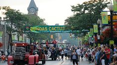 "Held annually in Dundas a small town that is part of Hamilton. Dundas is ""The Cactus Capitol Of Canada"" Hamilton Ontario Canada, Dundas Ontario, All About Canada, Small Towns, Wonderful Places, Times Square, Cactus, Street View, Backyard"