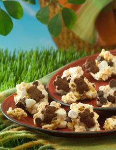 Popcorn S'mores - Yield: 20 pieces