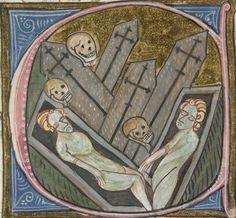 The British Library, Royal 6 E. VI, f.267v. James le Palmer, Omne Bonum (Absolucio-Circumcisio). London, c. 1360 - c.1375