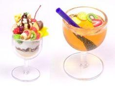Miniature Ice Cream Sundae Cups Parfait Cups by MiniatureSweet, $4.75