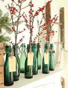 Des bouteilles recyclées - Noël express : 40 idées de dernière minute - Elle