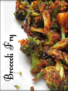 Srithi's Samayalarai - BROCCOLI BESAN FRY/ HOW TO MAKE BROCCOLI FRY