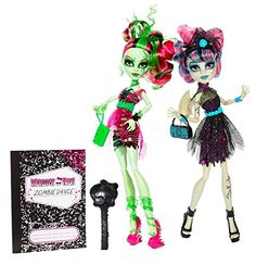 Monster High Zombie Shake Dance - Rochelle Goyle andamp; Venus McFlytrap - Deluxe Toy Fashion Doll 2 Pack No description (Barcode EAN = 0885454601207). http://www.comparestoreprices.co.uk/january-2017-1/monster-high-zombie-shake-dance--rochelle-goyle-andamp-venus-mcflytrap--deluxe-toy-fashion-doll-2-pack.asp