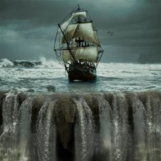 Set your sails for the edge of the world