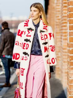 All the Latest Street Style From Milan Fashion Week via @WhoWhatWear