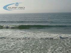 Praia do Diabo às 07:30. Veja mais fotos do Boletim das Ondas em www.surfrio.com.br