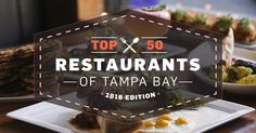 Tampa Bay Times food critic Laura Reiley picks the 2016 area's best places to eat.