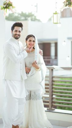 Pakistani Fashion Party Wear, Pakistani Wedding Outfits, Pakistani Wedding Dresses, Pakistani Dress Design, Bridal Outfits, Indian Outfits, Ayeza Khan Wedding, Desi Wedding Dresses, Nikkah Dress