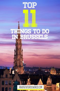 11 Amazing Things to do in Brussels in a Day - Are you looking for the best things to do in Brussels? From eating waffles to incredible views, see how many of these you can tick off while in the city! >> Click through to read the full post! European Travel Tips, Europe Travel Guide, Travel Destinations, Video Games For Kids, Travel Videos, Travel Scrapbook, Amazing Adventures, Australia Travel, Amazing Things