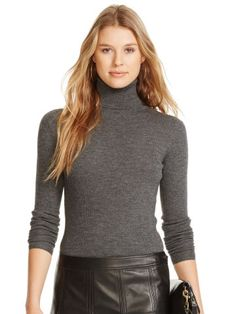Polo Ralph Lauren Ribbed Merino Wool Turtleneck - Polo Ralph Lauren Gifts for Her - Ralph Lauren France